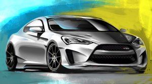 Legato Genesis Coupe Concept
