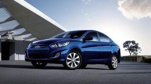 2014 Hyundai Accent, one of the least expensive vehicles to maintain (MSN Autos)